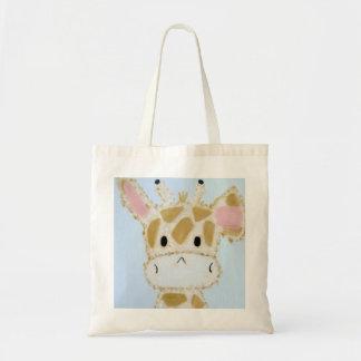Giraffe Baby Tote Bag