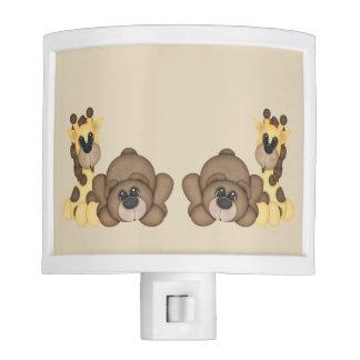 Giraffe & Bear Night Light
