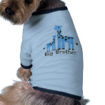 Giraffe Big Brother Dog Tshirt