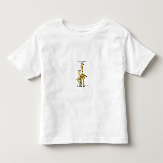 Giraffe Big Sister T-Shirt