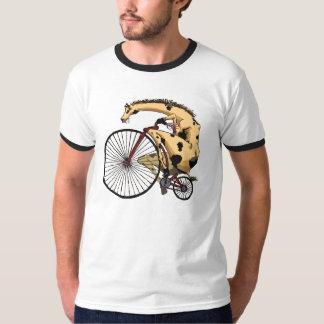 Giraffe Bike T-Shirt