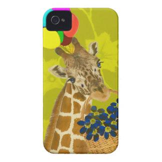Giraffe brings congratulations. iPhone 4 covers