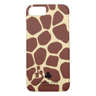 Giraffe (Burgundy) iPhone 8/7 Case
