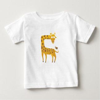 giraffe cartoon. baby T-Shirt