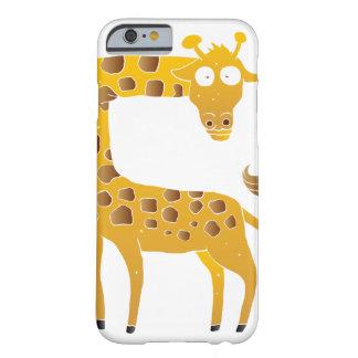 giraffe cartoon. barely there iPhone 6 case