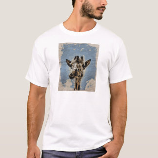 Giraffe chewing T-Shirt