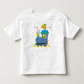 Giraffe Conductor Toddler T-shirt