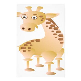 Giraffe ,cute animal stationery