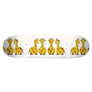 Giraffe Cute Cartoon Skate Boards