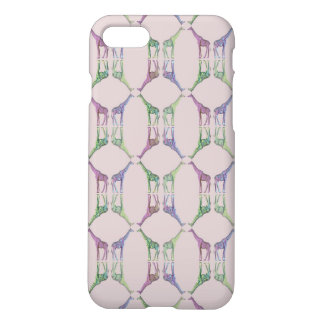 Giraffe Diamond iPhone 8/7 Case