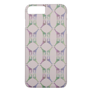 Giraffe Diamond iPhone 8 Plus/7 Plus Case