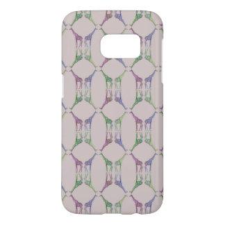 Giraffe Diamond Samsung Galaxy S7 Case