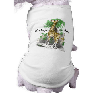 Giraffe Dog T-shirt