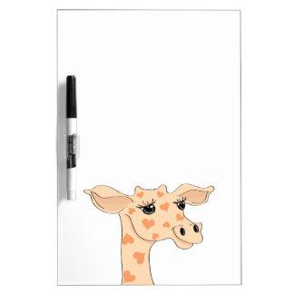 Giraffe Dry Erase Board