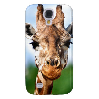 giraffe face  samsung galaxy S4 case