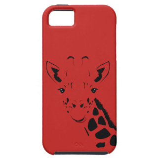 Giraffe Face Silhouette Case For The iPhone 5