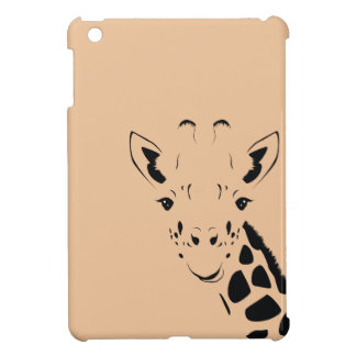 Giraffe Face Silhouette Cover For The iPad Mini