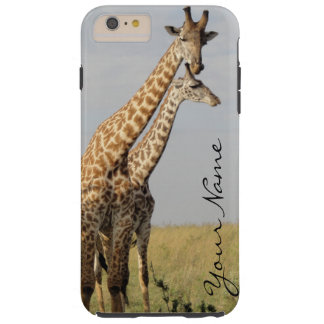 Giraffe Family iPhone 6 Plus Case Personalize!