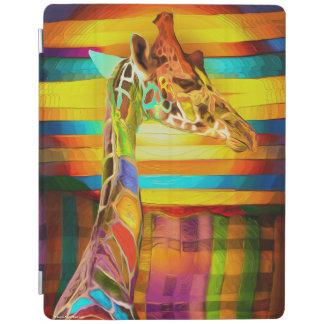 Giraffe full of colors iPad 2/3/4 Cover iPad Cover