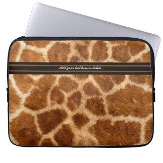Giraffe Fur  Sleeve - Customize Computer Sleeves