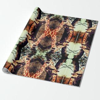 Giraffe  Gift Wrapping Paper