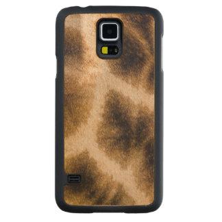 Giraffe (Giraffa Camelopardalis) Skin Maple Galaxy S5 Slim Case