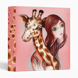 """Giraffe Girl"" Binder"