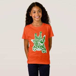 """""""Giraffe"""" Girls' Fine Jersey T-Shirt"""