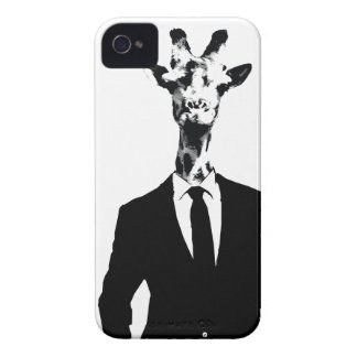 Giraffe Guy iPhone 4 & 4s Cover