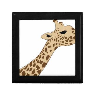 Giraffe Head Gift Box