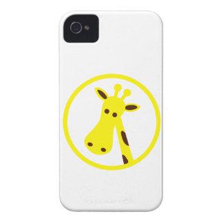 Giraffe Head iPhone 4 Cases