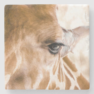 Giraffe Hello Stone Coaster