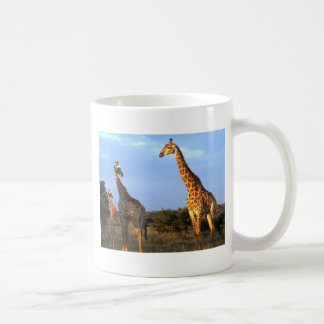 Giraffe Herd Coffee Mug