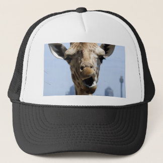 Giraffe Hey Trucker Hat