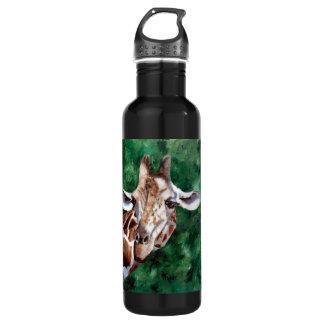 Giraffe I'm Up Here 710 Ml Water Bottle