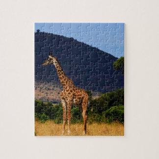 Giraffe In Africa Jigsaw Puzzle