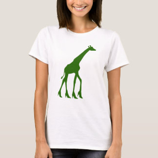 Giraffe in High Heels T-Shirt