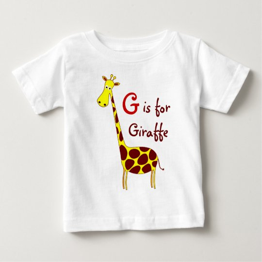 Giraffe Infant T-Shirt