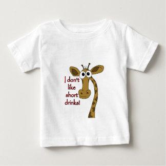 Giraffe joke baby T-Shirt