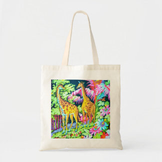 Giraffe Jungle Budget BagTote
