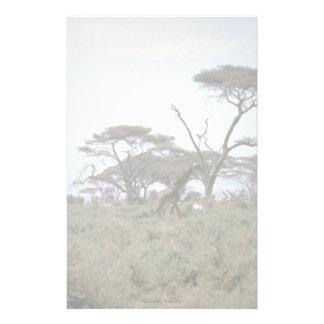 Giraffe, Kenya Stationery