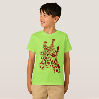 """Giraffe"" Kids' Hanes TAGLESS® T-Shirt"
