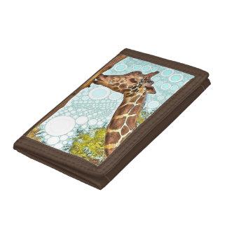 Giraffe Kiss Wallet