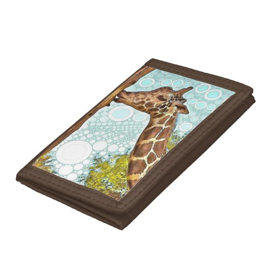 Giraffe Kiss Wallet