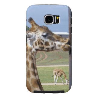Giraffe_Kisses,_Tough Samsung Galaxy S6 Case. Samsung Galaxy S6 Cases