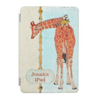 Giraffe Little Bird iPad Case iPad Mini Cover
