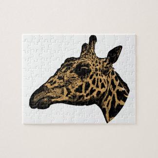Giraffe Logo Jigsaw Puzzle