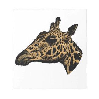 Giraffe Logo Notepad