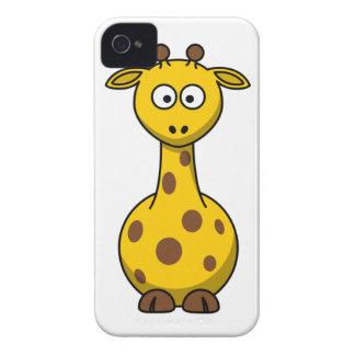 Giraffe love iPhone 4 case