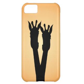 Giraffe Love iPhone 5C Cover